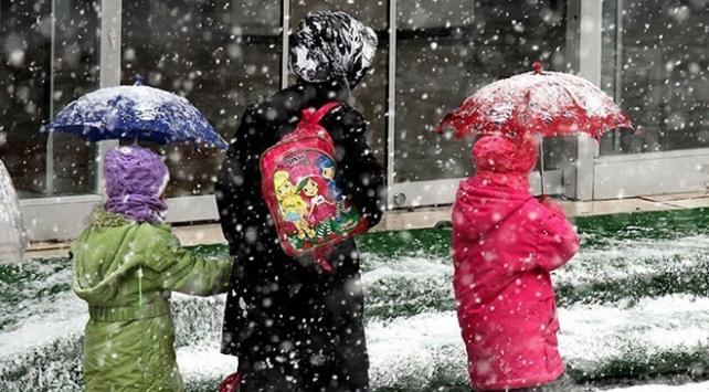 Kahramanmaraşın 2 ilçesinde okullara kar tatili