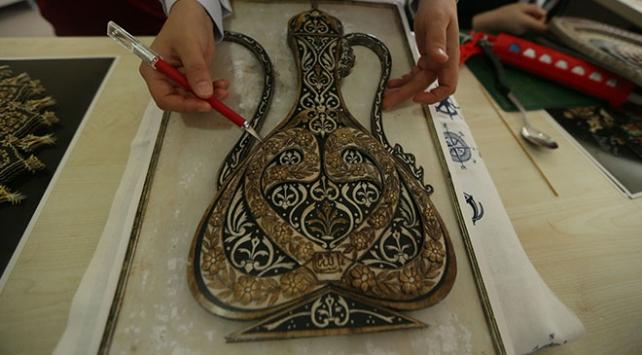 Osmanlının katı sanatı geleceğe aktarılıyor