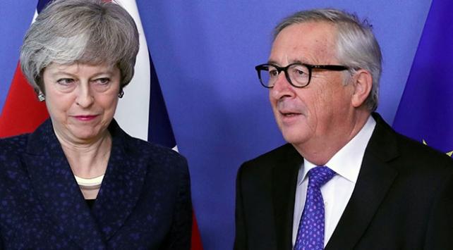 May ile Junckerin Brexit görüşmesi tamamlandı