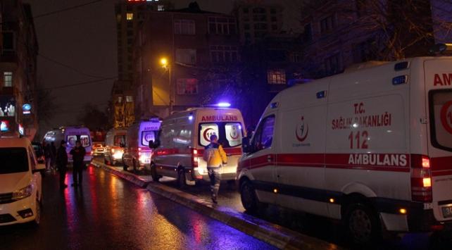 Elektrik panosu patladı 21 kişi zehirlendi