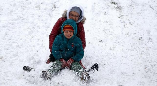 Kahramanmaraşın iki ilçesinde eğitime kar engeli