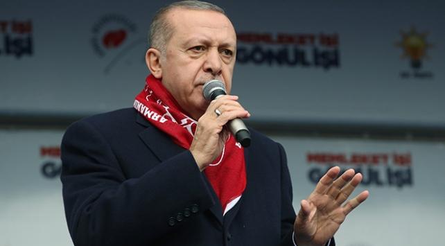 Cumhurbaşkanı Erdoğan: Tanzim satış noktalarıyla en ucuz fiyatlarla ürünleri getiririz