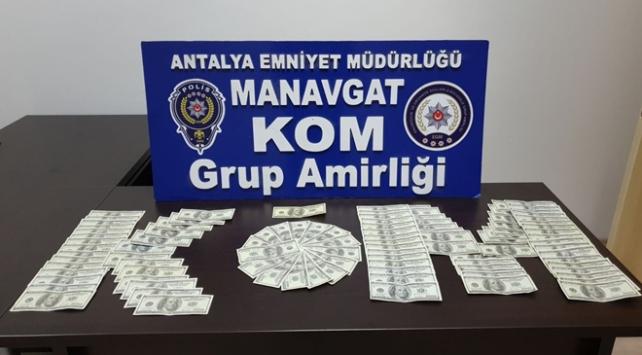 Antalyada sahte para operasyonu