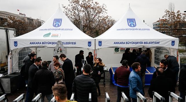 Ankarada 15 noktada tanzim satış noktası kuruldu