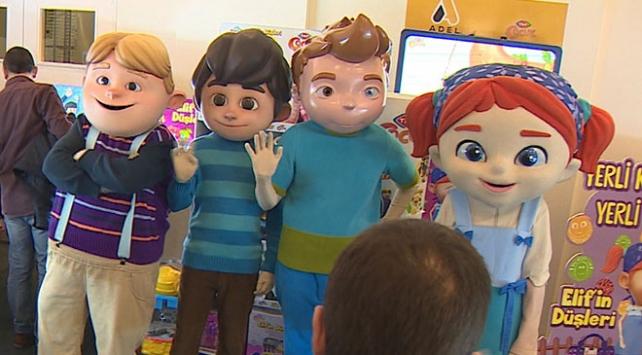TRT Çocuk'un çizgi karakterleri raflarda yerini aldı