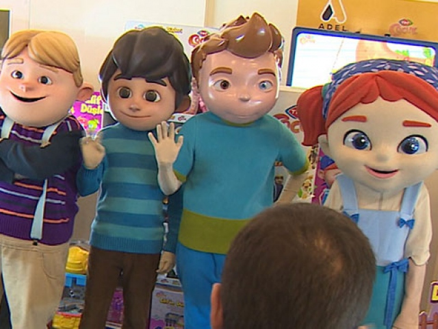 TRT Çocukun çizgi karakterleri raflarda yerini aldı