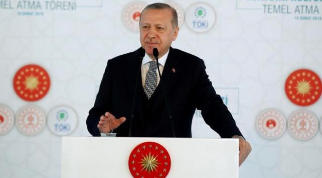 Cumhurbaşkanı Erdoğan: İstanbul AKM bir zafer anıtı olacaktır
