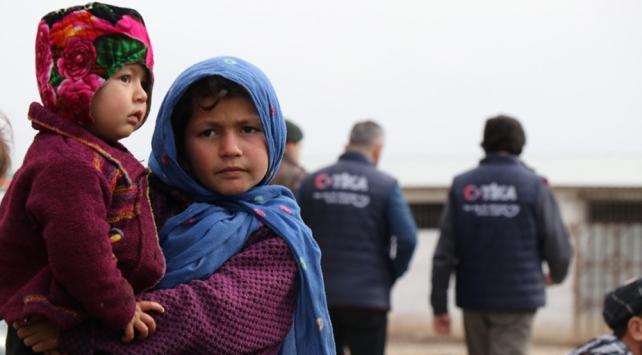 TİKAdan Afganistanda bin aileye yardım
