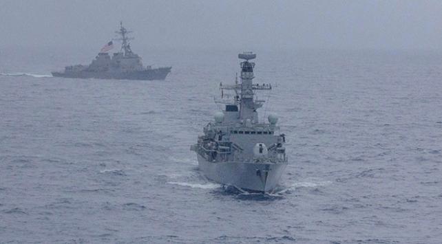 ABD savaş gemileri yeniden Güney Çin Denizinde