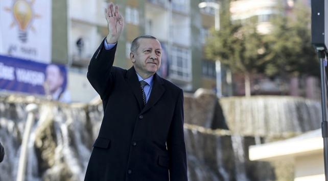 Cumhurbaşkanı Erdoğan: Fiyatlar yarıya indi, temizlik malzemelerine de gireceğiz