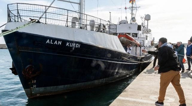 Kurtarma gemisine Aylan Kurdinin adı verildi