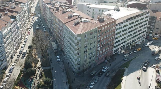 Şişlide 4 bina boşaltıldı