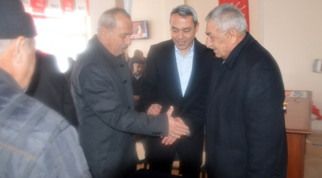 HDPden CHP seçim bürosuna ziyaret