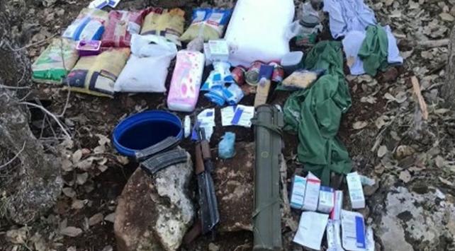 Mardinde teröristlere ait ele geçirilen patlayıcılar imha edildi
