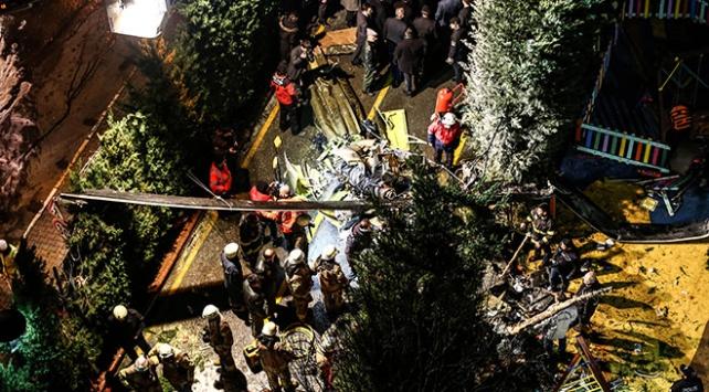 İstanbulda askeri helikopter düştü: 4 şehit