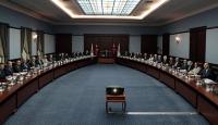 Cumhurbaşkanı Erdoğan, Ankara'da seçim komisyonunu topladı