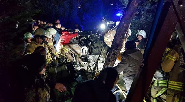 Siyasilerden helikopter kazası şehitleri için taziye mesajları