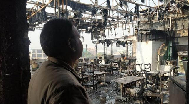 Hindistanda otel yangını: 17 ölü