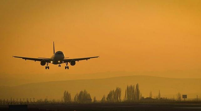 Ankarada ocak ayında 1,2 milyon kişi hava yolunu kullandı