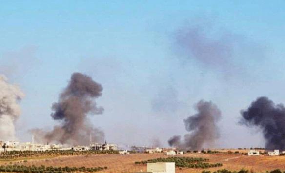 Esed rejiminden İdlibe yoğun topçu saldırısı