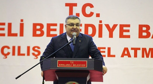 Kırklareli Belediye Başkanı Mehmet Siyam Kesimoğlu CHPden istifa etti