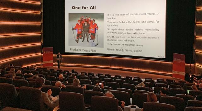 TRT dizileri Berlinalede özel gösterimle tanıtıldı