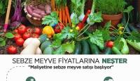 Meyve Sebze Fiyatlarına Neşter: Belediyeler Satışa Başladı