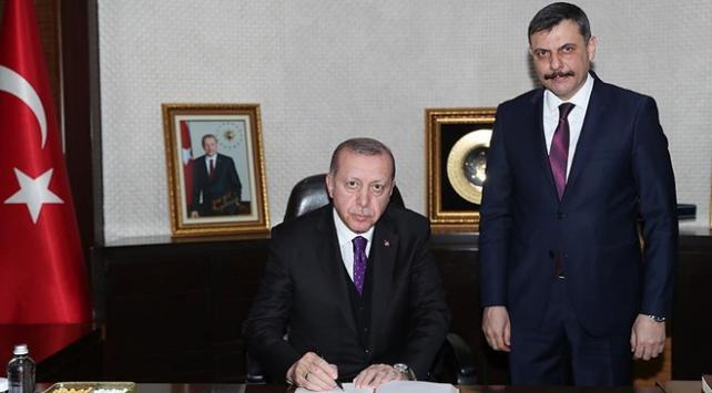 Cumhurbaşkanı Erdoğan Çorum Valisini kabul etti