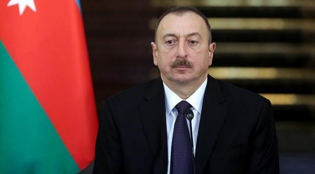 İlham Aliyevden Cumhurbaşkanı Erdoğana taziye mesajı
