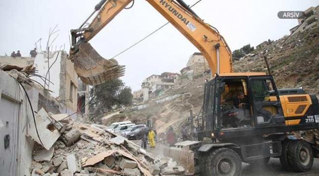 İsrail Doğu Kudüste Filistinlilere ait 3 evi yıktı