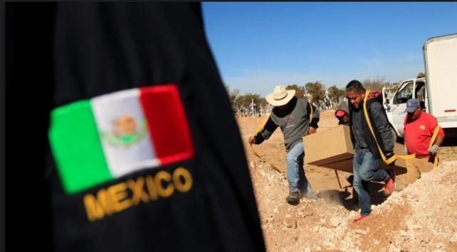 Meksikada toplu mezardan 50 ceset çıkarıldı