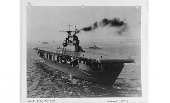2. Dünya Savaşında batırılan ABD uçak gemisinin enkazına ulaşıldı