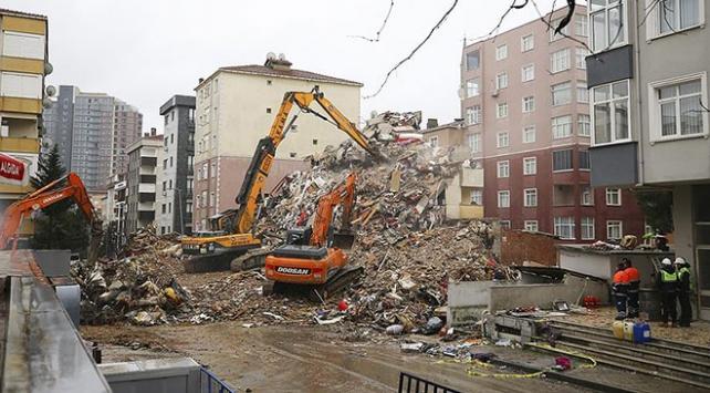 Kartalda riskli binaların yıkımı tamamlandı