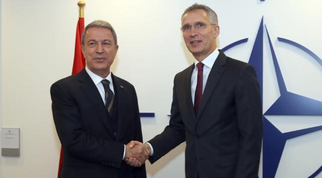 Milli Savunma Bakanı Akar Stoltenberg ile görüştü