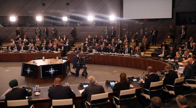 NATO ülkelerinin Savunma Bakanları Brükselde