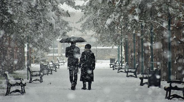 3 il için kar yağışı uyarısı
