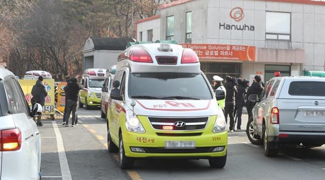 Güney Korede mühimmat fabrikasında patlama: 3 ölü