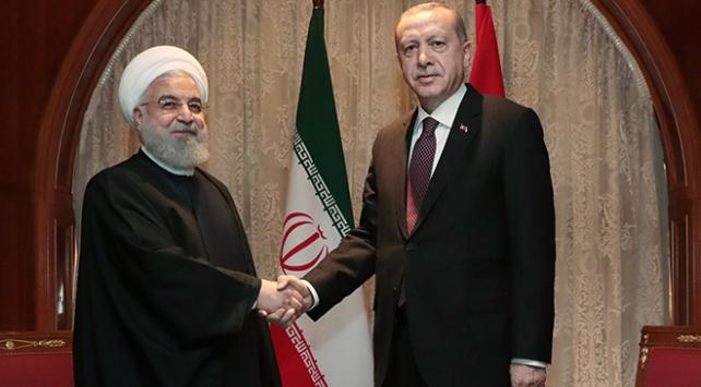 Cumhurbaşkanı Erdoğan-Ruhani görüşmesi sona erdi