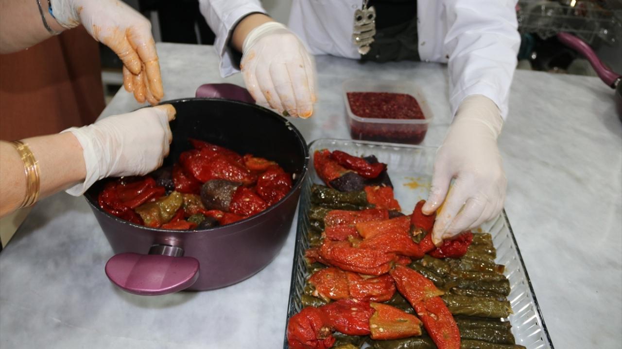 Diyarbakırın yöresel yemekleri kadınlara gelir oldu