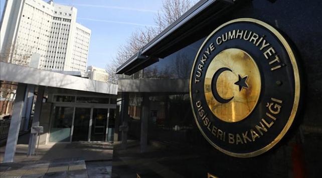 Türkiyeden Kuzey Makedonyaya taziye mesajı