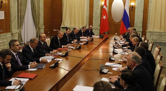 Cumhurbaşkanı Erdoğan, Soçide Putin ile görüştü