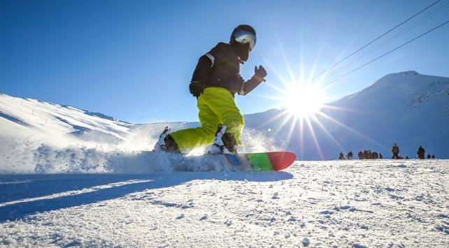 Yıldız Dağında ulusal snowboard yarışları yapılacak