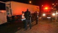 Osmaniye'de tır yolcu otobüsüne çarptı