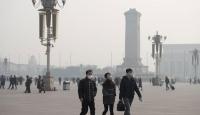 Çin'de hava kirliliği seviyesi arttı: Turuncu alarm verildi