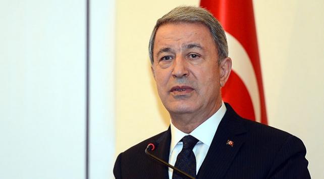 Bakan Akar: Güvenli bölgede sadece Türkiye olmalıdır