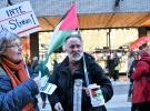 İsveç'te İsrail mallarını alma boykot et eylemi