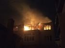 Sinop'ta çıkan yangın bir evi kül etti
