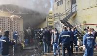 Hatay'da fabrika yangını