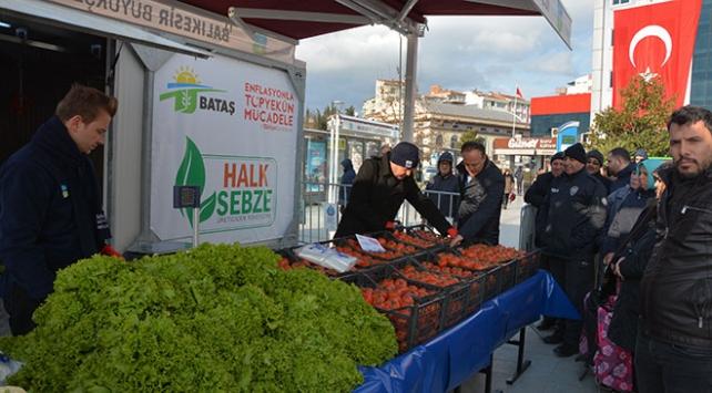 Balıkesirin ilk tanzim satış noktası açıldı