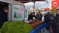 Balıkesir'in ilk tanzim satış noktası açıldı